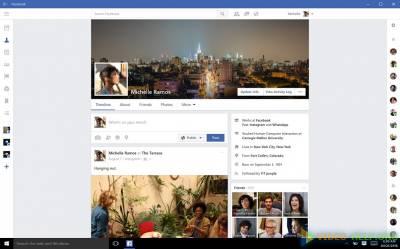 Приложения Facebook, Messenger и Instagram для Windows 10,