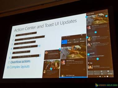 [BUILD 2016] Грядущие изменения в центре уведомлений Windows 10